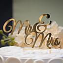 billiga Modeörhängen-Tårttoppar Klassisker Tema Klassiskt Par Hårt Plast Bröllop Årsdag Möhippa med 1 OPP
