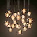 billiga Klusterdesign-UMEI™ Klunga Hängande lampor Glödande Krom Metall Kristall 90-240V Varmt vit Glödlampa inkluderad / G4