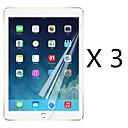 ราคาถูก สติกเกอร์แทททู-AppleScreen ProtectoriPad Mini 4 ความละเอียดสูง (HD) Front Screen Protector 3 ชิ้น PET / มินิ iPad 4