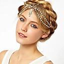 Χαμηλού Κόστους Κοσμήματα Μαλλιών-Γυναικεία Κράμα Κεφαλόδεσμοι Γάμου Πάρτι