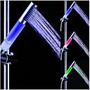 billiga LED-duschhuvuden-färg vatten ledde duschhuvud handhåll dusch handdusch huvud vattenbesparande