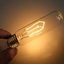 ราคาถูก หลอดไฟ-1pc 40 W E26 / E27 T10 ขาวนวล 2000 k ตกแต่ง หลอดไฟ Vintage Edison รุ่น Exand 220-240 V