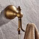 Χαμηλού Κόστους Σετ βρύση-Γάντζος για μπουρνούζι Υψηλή ποιότητα Πεπαλαιωμένο Ορείχαλκος 1 τμχ - Ξενοδοχείο μπάνιο