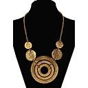 povoljno Modne ogrlice-Žene Izjava Ogrlice Duga ogrlica Statement dame Europska Moda Legura Zlato zaslon u boji Ogrlice Jewelry Za