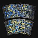 billige Neglestempling-24 pcs Negle Smykker Neglekunst Manikyr pedikyr Smuk Klassisk Daglig / Plast / Nail Smykker