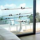Χαμηλού Κόστους Μεμβράνη Παραθύρου & Αυτοκόλλητα-αυτοκόλλητο παράθυρο κλασική, ζώο 57 εκατοστά * 11 εκατοστά