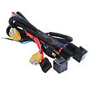 baratos Interruptores para Carros-H4 / 9003 soquete do relé conector do chicote de fiação do farol reforço fusível