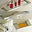 billige Tilbehørssett til badet-Tilbehørssett til badeværelset , Moderne Rustfritt stål Veggmontert