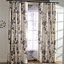 billiga Fönstergardiner-Skräddarsydd Mörkläggande gardiner draperier Två paneler 2*(W183cm×L213cm) / Sovrum
