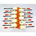Χαμηλού Κόστους Εξτένσιος μαλλιών με φυσικό χρώμα-10 pcs Plute Σκληρό Δόλωμα Πλαστικά Πλαστική ύλη Καλάμι Ψαρέματος Ψάρια Επιπλέει Γενικό Ψάρεμα