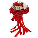 """Χαμηλού Κόστους Σετ Σερβιρίσματος-Λουλούδια Γάμου Μπουκέτα Γάμου Αφρός 11,42 """" (περίπου29εκ)"""