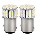 ราคาถูก ไฟท้ายรถ-1157 รถยนต์ Light Bulbs SMD 3528 LED ไฟท้าย For Universal