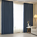 billiga Mörkläggningsgardiner-mörkläggningsdraperier gardiner två paneler / jacquard / sovrum