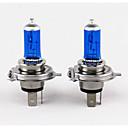 זול תאורה קדמית לרכב-2 יחידות נורות h4 100 w פנס הלוגן 800 ליטר