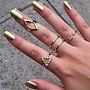 billiga Religiösa smycken-Dam Ring Silver Brun Legering damer Ovanligt Stilig Bröllop Party Smycken / Bergkristall