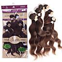 povoljno Perike s ljudskom kosom-Brazilska kosa Tijelo Wave 8A Ljudske kose plete Isprepliće ljudske kose Proširenja ljudske kose
