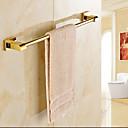 baratos Duchas & Acessórios-Barra para Toalha Moderna Latão 1 Pça. - Banho do hotel 1 barra de toalha