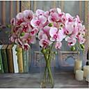 Χαμηλού Κόστους Βάζα & Καλάθι-5pcs πραγματικό άγγιγμα τεχνητά λουλούδια ορχιδέες σπίτι διακόσμηση γάμο κόμμα δώρο