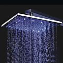 Χαμηλού Κόστους Κεφαλές Ντουζ-Σύγχρονο Ντουζιέρα Βροχή Χρώμιο Χαρακτηριστικό - Βροχή LED, Κεφαλή ντους