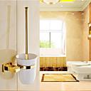 ราคาถูก ชั้นวางของในห้องน้ำ-ที่วางแปรงล้างโถส้วม Neoclassical ทองเหลือง 1 ชิ้น - อ่างอาบน้ำของโรงแรม