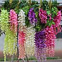 Χαμηλού Κόστους Ψεύτικα Λουλούδια-Ψεύτικα λουλούδια 1 Κλαδί μινιμαλιστικό στυλ Φυτά Λουλούδι Τοίχου