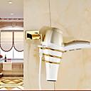 baratos Duchas & Acessórios-Secador de cabelo Moderna Latão 1 Pça. - Banho do hotel