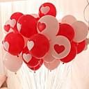זול בלונים-10pcs לבבות בצורת עגול חתונה מסיבת יום הולדת קישוט הבית פסטיבל