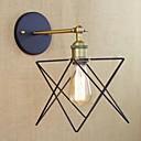 povoljno Zidne tapete-Rustic/Lodge Zidne svjetiljke Za Metal zidna svjetiljka 110-120V 220-240V
