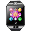 Χαμηλού Κόστους Έξυπνα Ρολόγια-q18 smartwatch bt γυμναστήριο παρακολούθησης με υποστήριξη κάμερας ειδοποίηση / καρδιακός ρυθμός παρακολούθησης αθλητικό έξυπνο ρολόι για τηλέφωνα samsung / iphone / android