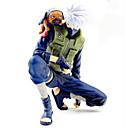 זול דמויות אקשן של אנימה-נתוני פעילות אנימה קיבל השראה מ Naruto Hatake Kakashi PVC 14 cm CM צעצועי דגם בובת צעצוע בגדי ריקוד גברים בנים בנות / דְמוּת