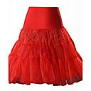 Χαμηλού Κόστους Παιχνίδι Μπάνιου-Γυναικεία Γραμμή Α Τούτους Εξόδου Βαμβάκι Φούστες - Μονόχρωμο Δίχτυ Κίτρινο Κόκκινο Ροζ M L XL