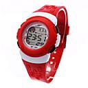 Χαμηλού Κόστους Αξεσουάρ μαλλιών-Παιδικά κυρίες Αθλητικό Ρολόι Μοδάτο Ρολόι Ψηφιακό ρολόι Ιαπωνικά Ψηφιακό Μαύρο / Μπλε / Κόκκινο 30 m Συναγερμός Ημερολόγιο Χρονογράφος Ψηφιακό Απίθανο - Μαύρο Κόκκινο Μπλε / Ενας χρόνος / LCD