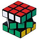 billiga Hårflätor-Magic Cube IQ-kub Shengshou 3*3*3 Mjuk hastighetskub Magiska kuber Stresslindrande leksaker Utbildningsleksak Pusselkub professionell nivå Hastighet Professionell Klassisk & Tidlös Barn Vuxna Leksaker