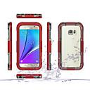 billiga Jewelry Set-fodral Till Samsung Galaxy S7 edge / S7 Stötsäker / Genomskinlig Fodral Rustning PC