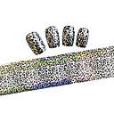 billiga folie Papper-1 pcs Nail Foil Striping Tape nagel konst manikyr Pedikyr Vackert Tecknat / Mode Dagligen / Foliebandspapp