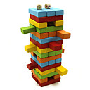 ราคาถูก เกมกระดาน-Board Game Stacking Games ซ้อนทาวเวอร์ มืออาชีพ Balance ทำด้วยไม้ คลาสสิก 48 pcs สำหรับเด็ก ผู้ใหญ่ เด็กผู้ชาย เด็กผู้หญิง Toy ของขวัญ