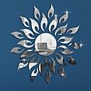 billiga Speglar Väggklockor-Djur Människor Stilleben Romantik Mode Former Vintage Högtid Tecknat Fritid fantasi Väggklistermärken Väggklistermärke i spegelstil