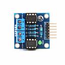 billiga Motorer och delar-2-vägs likströmsmotor drivmodulen för Arduino + hallon pi - blå