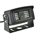 ราคาถูก กล้องมองหลังรถยนต์-CMOS 170 ดีกรี กล้องมองหลัง Waterproof มุมมองกลางคืน สำหรับ Bus รถยนต์