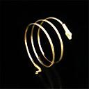 Χαμηλού Κόστους Αντρικά Βραχιόλια-Κρυστάλλινο Βραχιόλια Μοντέρνο κυρίες Μοναδικό Βίντατζ Πάρτι 18Κ Επίχρυσο Βραχιόλι Κοσμήματα Χρυσό / Ασημί Για Πάρτι Δώρο Βαλεντίνος / Μαργαριτάρι / Μαργαριτάρι / Cubic Zirconia