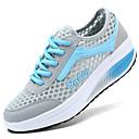 baratos Sapatos Esportivos Femininos-Mulheres Combinação Tule Conforto Primavera / Verão / Outono Verde / Azul / Rosa claro / EU40