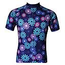 ราคาถูก แหวน-JESOCYCLING สำหรับผู้หญิง แขนสั้น Cycling Jersey ขนาดพิเศษ จักรยาน เสื้อยืด Tops ขี่จักรยานปีนเขา Road Cycling ระบายอากาศ แห้งเร็ว Ultraviolet Resistant กีฬา 100% โพลีเอสเตอร์ เสื้อผ้าถัก