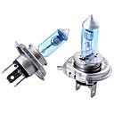 זול תאורה קדמית לרכב-2pcs h4 רכב נורות 100w 2800lm פנס / ערפל אור אוניברסלי