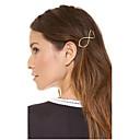זול תכשיטים לשיער-בגדי ריקוד נשים אלגנטית סגסוגת סיכות שיער קסמי שיער Party יומי