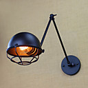Χαμηλού Κόστους Απλίκες Τοίχου-Ρουστίκ / Εξοχικό Λαμπτήρες τοίχου Μέταλλο Wall Light 220 V / 110V 40W / E26 / E27