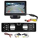 billiga Parkeringskamera för bil-4.3 tum TFT-LCD Car Reversing Monitor Trådlös för Universell / Bilar