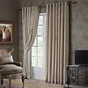 ราคาถูก ผ้าม่าน-เองทำผ้าม่านทึบม่านสองแผง / jacquard / ห้องนอน