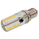 ราคาถูก หลอดไฟ-1pc 4 W 300-350 lm E12 / E17 / E11 หลอด LED รูปข้าวโพด T 80 ลูกปัด LED SMD 3014 หรี่แสงได้ / ตกแต่ง ขาวนวล / ขาวเย็น 220-240 V / 110-130 V / 1 ชิ้น / RoHs