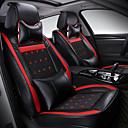povoljno Prekrivači za auto-sjedala-odeer navlake za autosjedalice, umjetna koža sjedalo vodootporno prozračno 5 sjedala puni set prednji stražnji poklopac - većina automobila, džip ili kombi