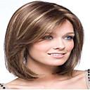 Χαμηλού Κόστους Αξεσουάρ μαλλιών-Συνθετικές Περούκες Ίσιο Ίσια Περούκα Μεσαίο Καφέ Συνθετικά μαλλιά 10 inch Γυναικεία Καφέ hairjoy